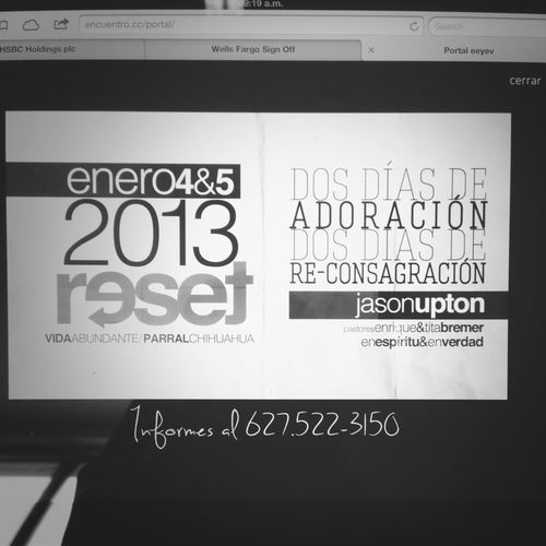 RESET. Get Ready! +info: Www.encuentro.cc