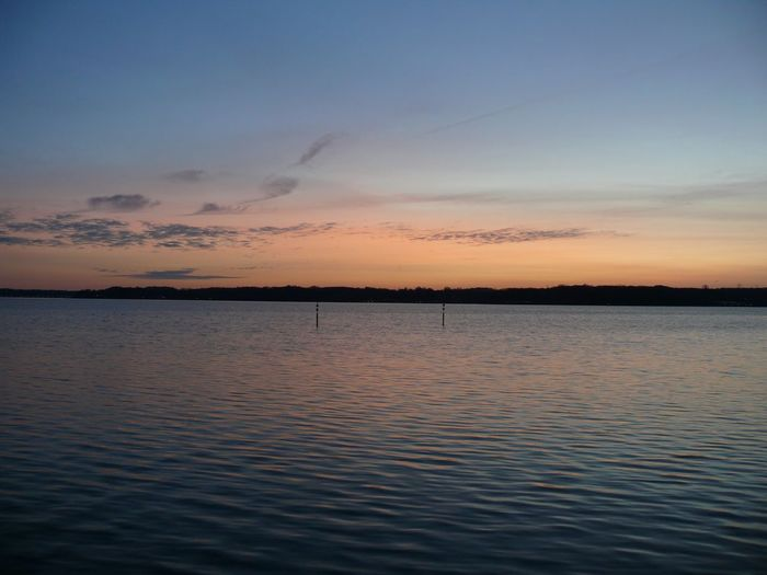 Sky Sunset Water Beauty In Nature Tranquil Scene Scenics - Nature Tranquility
