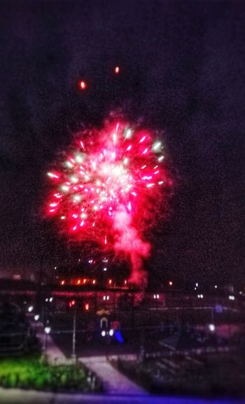 Night Celebration Multi Colored Illuminated Firework Display Outdoors Firework - Man Made Object EyeEmNewHere AI Now