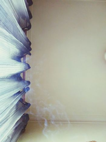 No People Expression Artistique Taking Photos Indoors  Curtain Walls Curtains Smoke