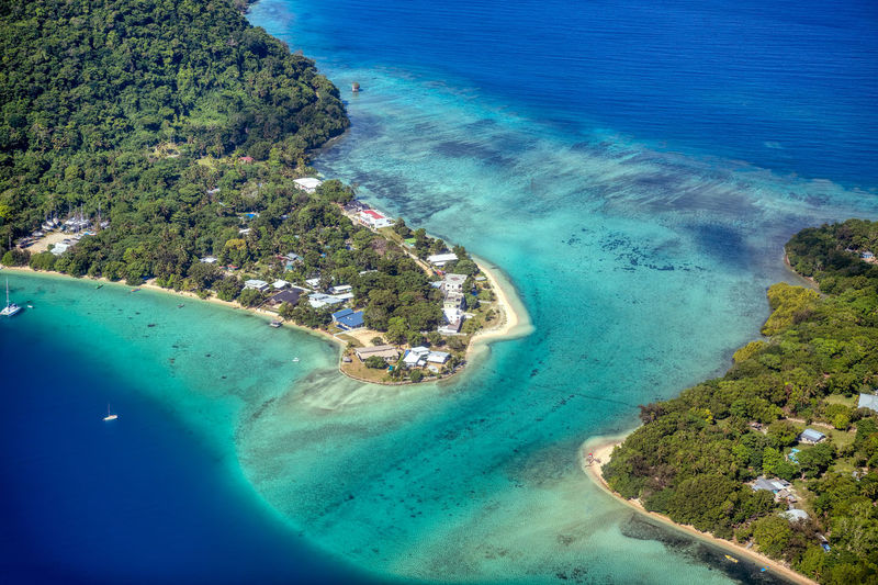 Inlet vanuatu Water Sea Beach Land Scenics - Nature Beauty In Nature Nature Coastline Blue Aerial View High Angle View Day Tranquil Scene Tree No People Tranquility Island Outdoors Turquoise Colored Bay Vanuatu Inlet Inlet Waterway Inlet Waters