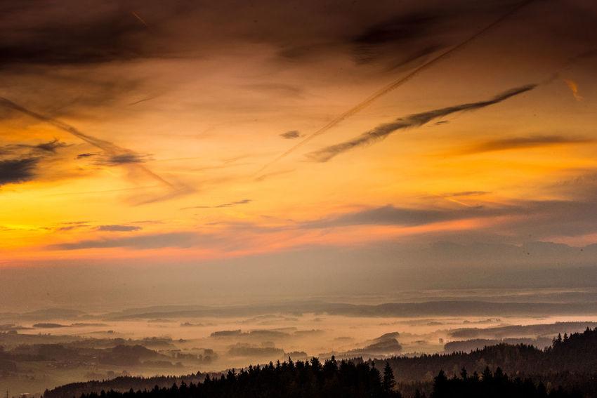 Austria Nature Nature Photography Nikon Nikond750 Beauty In Nature Cloud - Sky Dramatic Sky Graphxart Idyllic Landscape Majestic Nature Orange Color Outdoors Scenics - Nature Sky