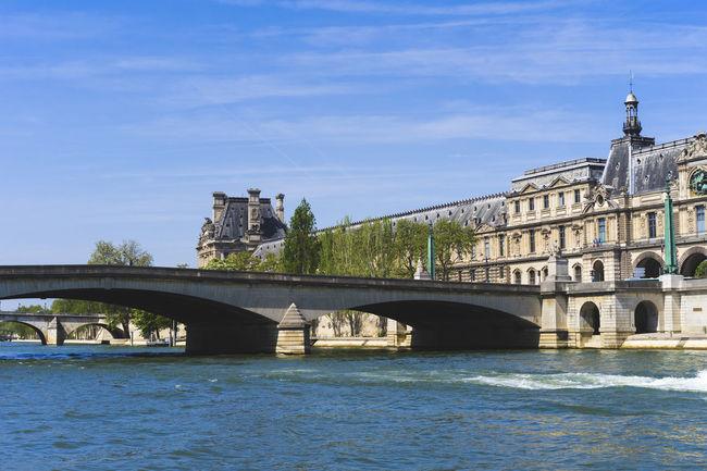 Paris, La Seine river Paris Architecture Bridge Bridge - Man Made Structure Building History La Seine River Travel Destinations Water