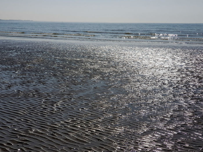 Rippled Sands Water Sea Beach Backgrounds Wave Sand Rippled Sky Horizon Over Water Low Tide Seascape Surf Coastline Coastal Feature Ocean Coast Tide