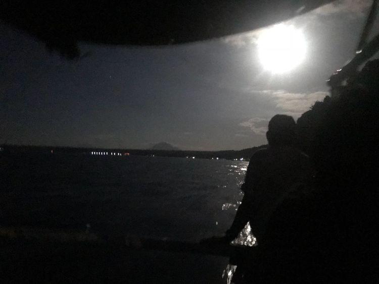 EyeEmNewHere Philippines Night Sky Water Sea Silhouette Nature Beach Night Beauty In Nature Scenics - Nature
