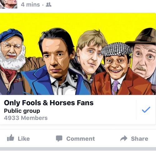 Yes Plonkers!! Are You #Onlyfoolsandhorses #Ofah Mad? Then join this #Facebook Group .. Pics quotes clips etc! Facebook.com/groups/Ofahfans
