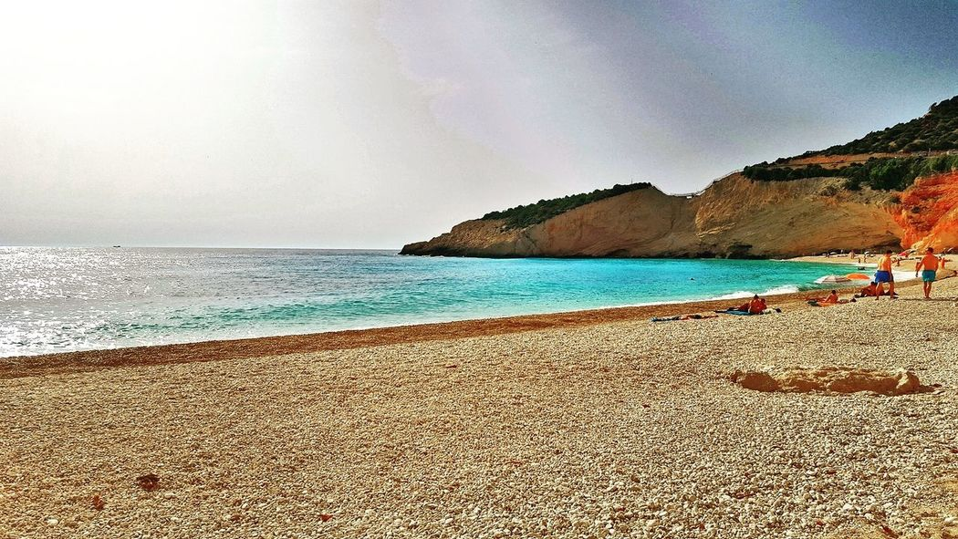 Sea Beach Vacations Horizon Over Water Travel Destinations Nature Outdoors Beauty In Nature Sand lef Lefkada, Greece