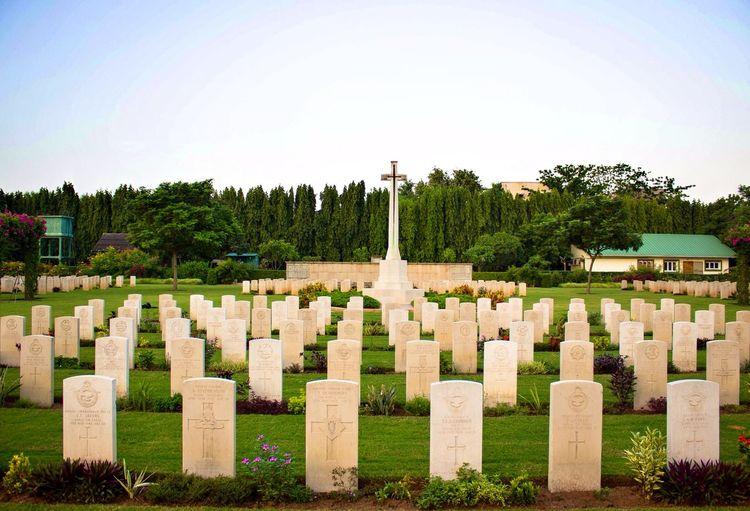 Chennai Madras War Cemetery