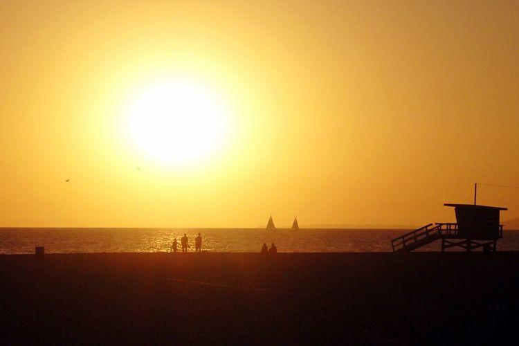 Sunset Traveling
