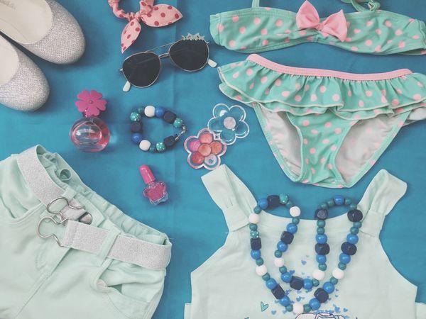 Fashion Kids Fashion  Blue Summer Summer Fashion Beachwear