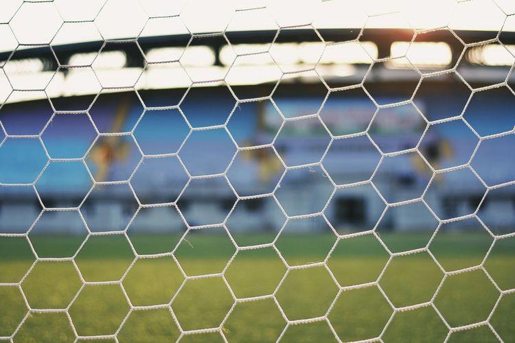 Sport Net - Sports Equipment No People Soccer Day Outdoors Soccer Field Close-up Sky Court Goal Post EyeEm Diversity