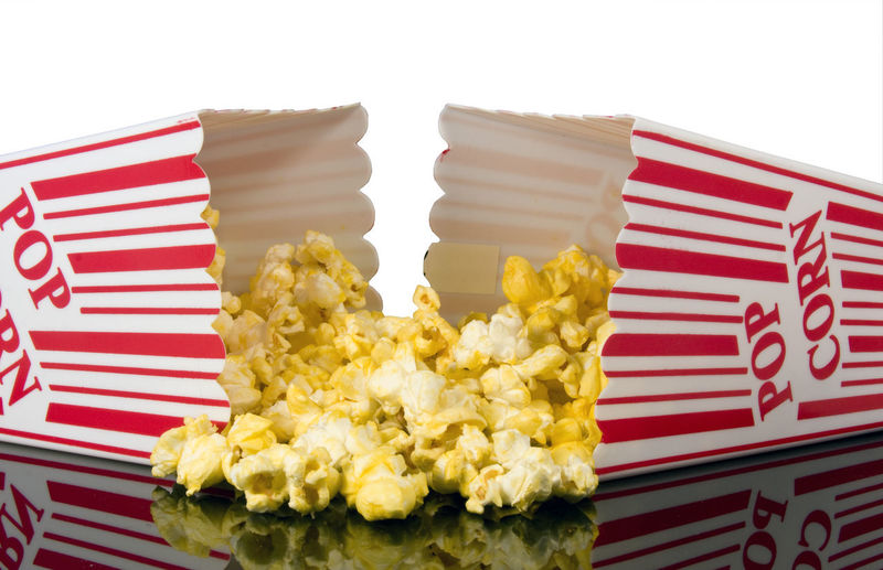 Buttered popcorn Buttered, Close-up Day Food Food And Drink Freshness Indulgence No People Outdoors Patriotism Popcorn, Ready-to-eat Red Striped Studio Shot Sweet Food Temptation Unhealthy Eating White Background