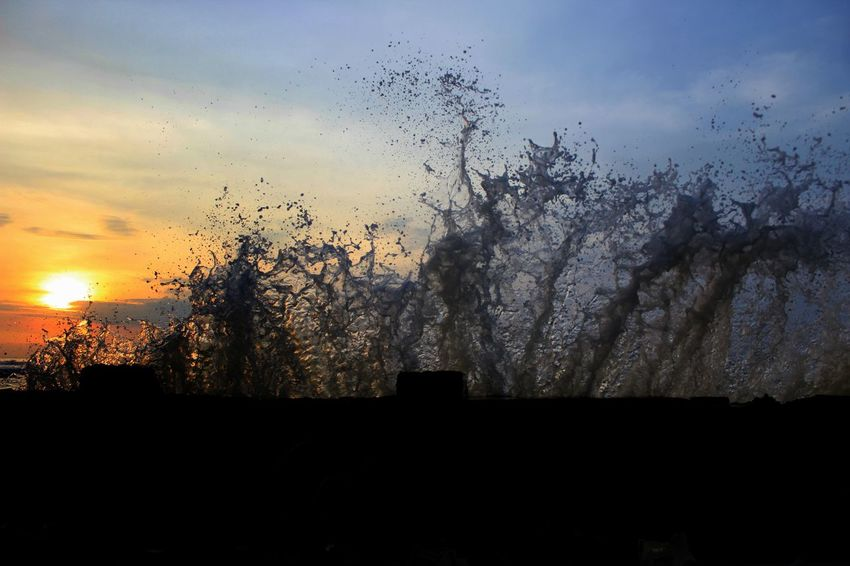 Beauty In Nature Close-up Day Nature No People Outdoors Scenics Sky Sunset Water