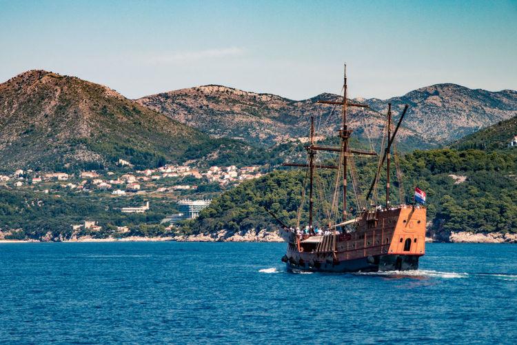 Pirate ship in