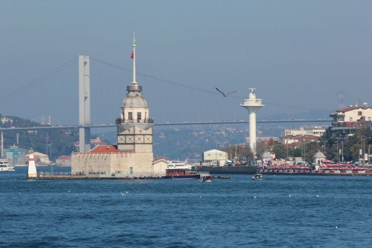 Kiz Kulesi Meiden`s Tower Istanbul Landscape