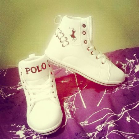 my new Polo shoese soo Cute eh Astig Swag
