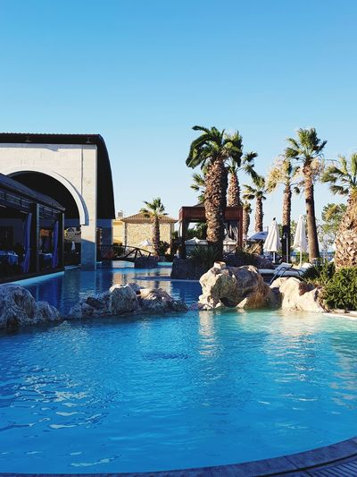 Beauty In Nature Nature Mediterranean  Griechenland GREECE ♥♥ Sky Water Pool Poolside Holiday Holidays ☀ Sunny