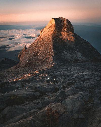 Sunrise mount kinabalu