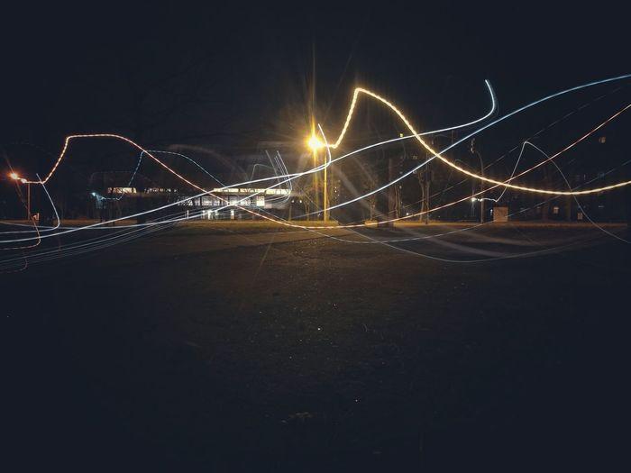 Lichtmalerei aus einem Archiv. Huawai Huawai P9 Leica Lens Brandenburg Eisenhüttenstadt Light Lightpainting City Brandenburginstagram Photography Photos