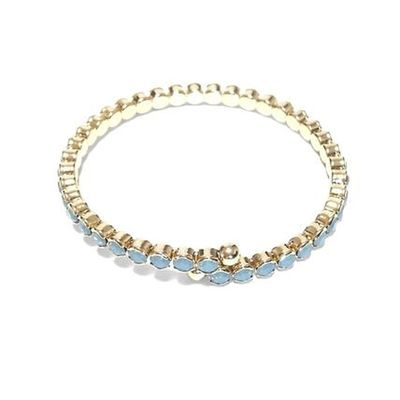 バングル Facebookページ アクセサリー Internationalshipping セレクトショップレトワールボーテ キラキラ レトワールボーテ 海外発送 Bracelet Jewelry ブレスレット Pendant ELLIPSE Diamond - Gemstone Brushed Metal Personal Accessory Platinum