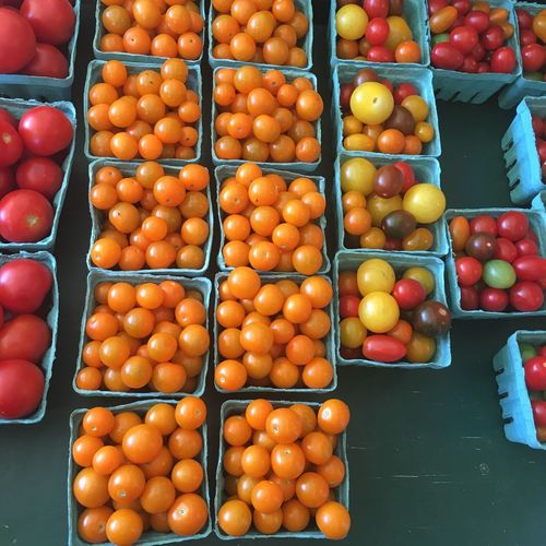 Tomato Local Market Healthy Eating Freshness Orange - Fruit Fruit Food Retail  Abundance Orange Color Market Stall Choice Food And Drink Red Large Group Of Objects Vitamin Juicy Peach No People Day Blood Orange