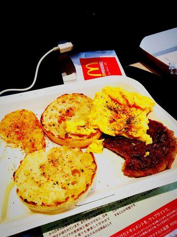 Badtaste Goldenarches Breakfast Macdonalds Junk Food Photo