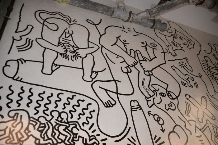 1989 Art, Drawing, Creativity Artist Erotic A Graffiti Haring  HaringAraw Keith Keith Haring, Mural Malaysia Modern Architecture Museum Peñíscola Selfie World Renowned Ar World Renowned Artist