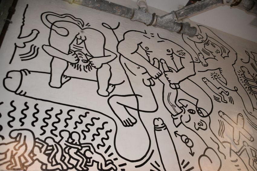 1989 Art, Drawing, Creativity Artist Erotic A Graffiti Haring  HaringAraw Keith Keith Haring, Mural Malaysia Modern Architecture Museum Peñíscola Selfie World Renowned Ar World Renowned Artist