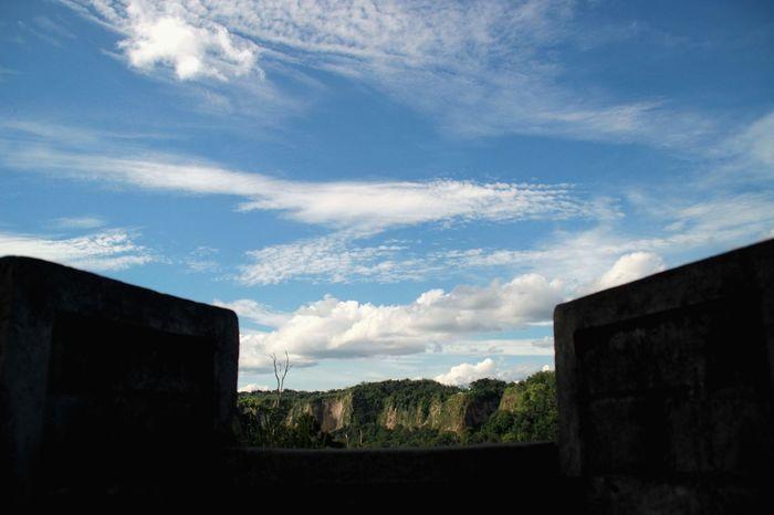 SIANOK Valley Ngaraisianok bukittinggi Minangkabau Rancak Blue Sky Cloud And Sky Valley