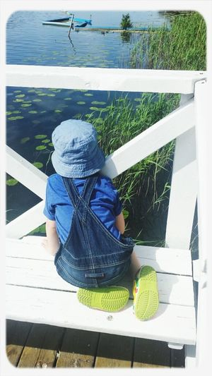 Water Lake View Happy Children Magelungen