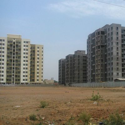 Grand elevation of neo city Pune Realty Wagholi