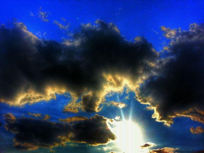 Benim objektifimden gökyüzü :-)