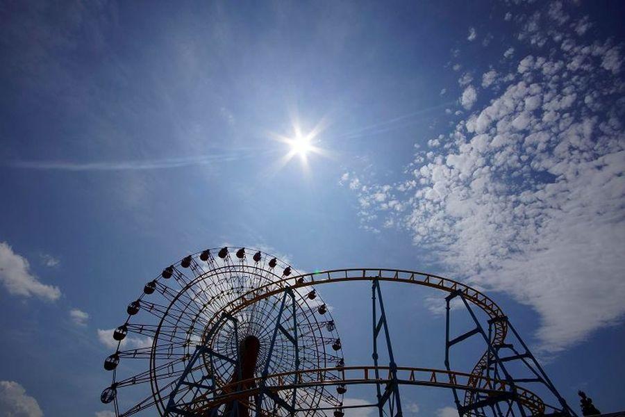 空 遊園地 Sky