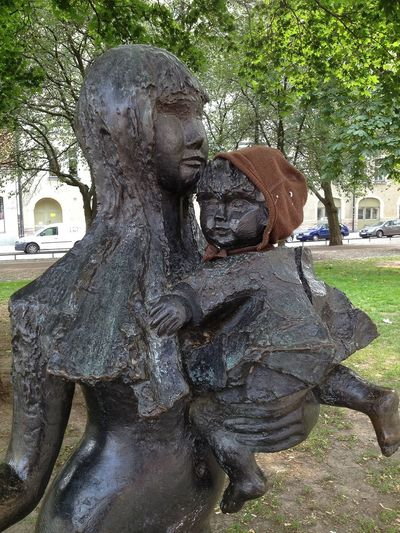 Mother Is The Name For God On The Lips Of Children Statue Public Art