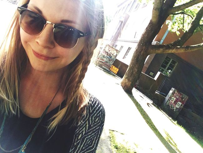 sunny sunny sunnyy ! Sunny Day Happy Finnishgirl  Helsinki Yahoo First Eyeem Photo Selfie