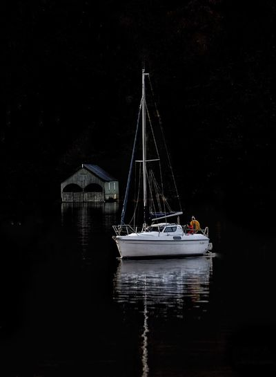A bit of late night sailing. Taking Photos Relaxing Countryside Malephotographerofthemonth Beauty In Nature EyeEm Nature Lover Photography Is My Escape From Reality! The Lake District  Relaxing Tranquil Scene Always Taking Photos Reflection Boats⛵️ Lighting