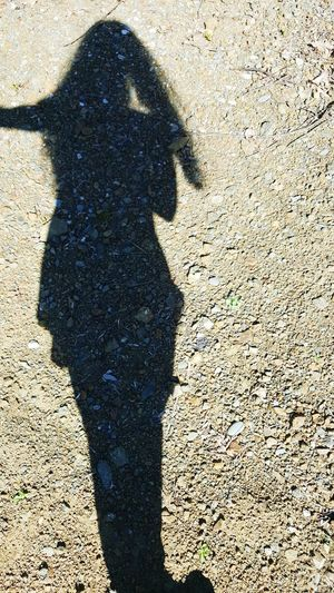 I've Come Undone Shadow Sunlight Focus On Shadow Day Outdoors One Person Close-up People