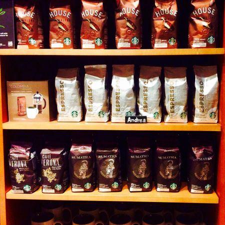 Andrea Baristastarbuck Starbucks Espresso Sumatra  Merch Coffee Groundcoffee Barista Baristalife Lobby Enjoying Life