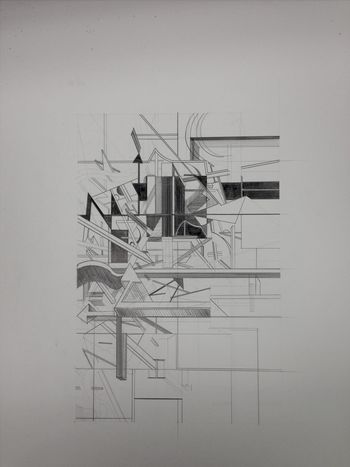 architecture drawing Architecture City 2.0 - The Future Of The City Art Drawing