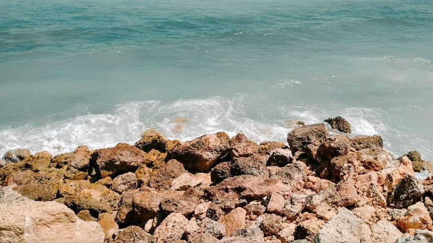 Water Wave Crash Sea Power In Nature Beach Motion Sand Sunlight Splashing