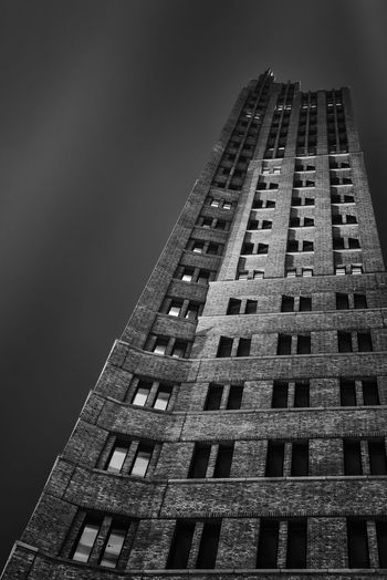 Kollhoff Tower Berlin Architecture Architecture_bw Urban Geometry Black And White Long Exposure
