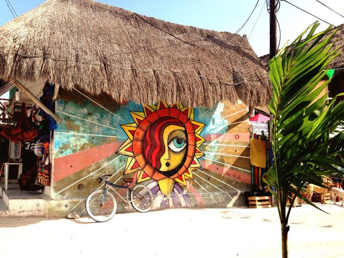 Isla Holbox Mexico Summer Street Art/Graffiti Holiday Mexicanstyle