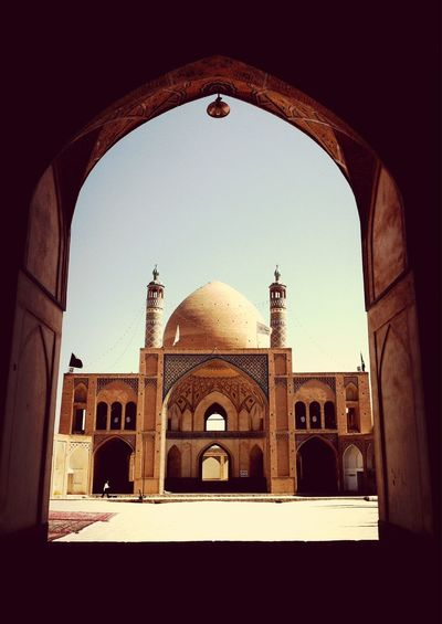 A Frame Within A Frame Architecture Iran Architecture