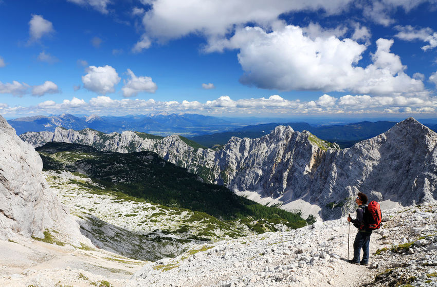 Landscape Photography Landscape_Collection Slovenia Travel Trekking Triglav National Park Beauty In Nature Day Europe Landscape Landscape_photography Mountain Nature Outdoors Sky Trek Triglav Triglavskinarodnipark