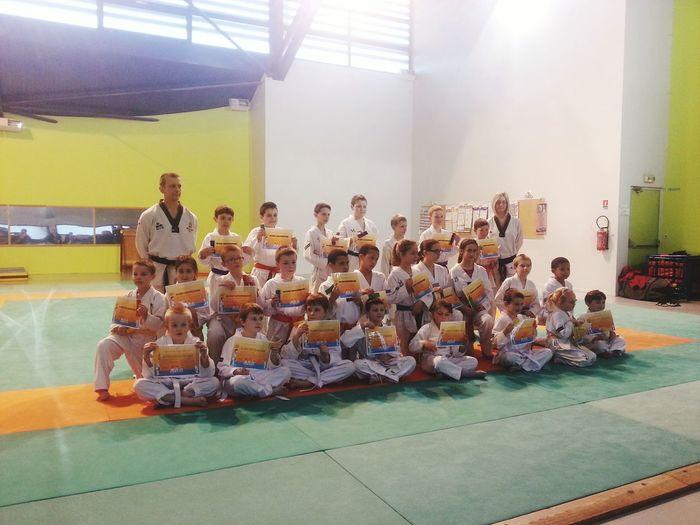 Taekwondo ♥ remise de keups enfants