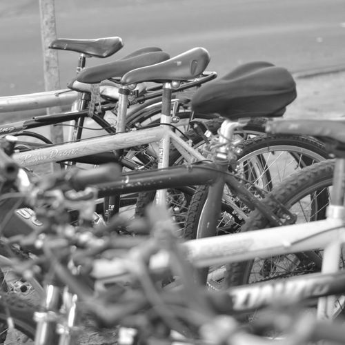 Bikes Bicycle Black And White