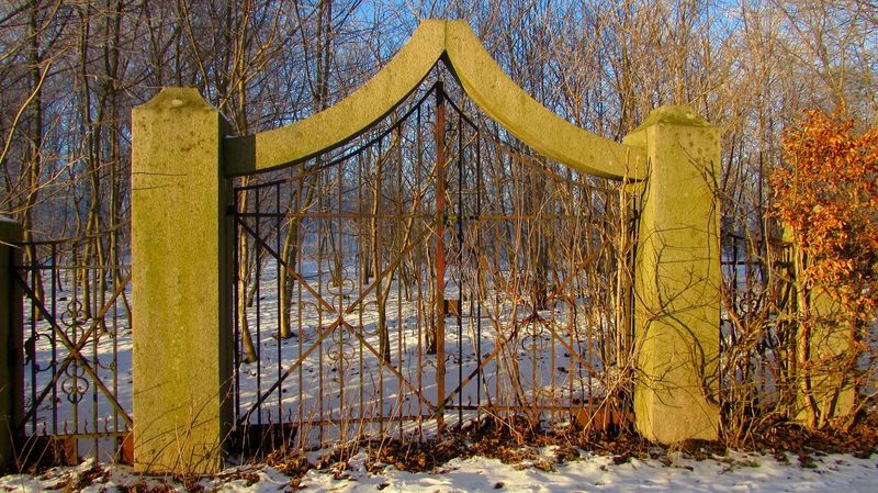 The Gate to nowere is in Skurup/Sweden