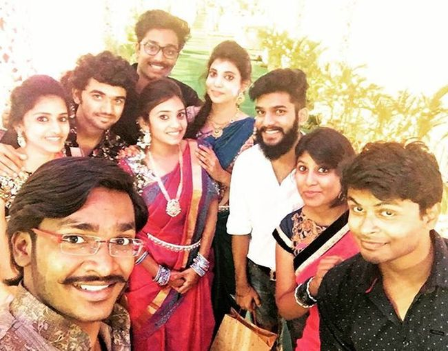 @karteek_kandala wedding. 5-12-15. 😁 CongratsAnna Friends MarriageSelfie Fun