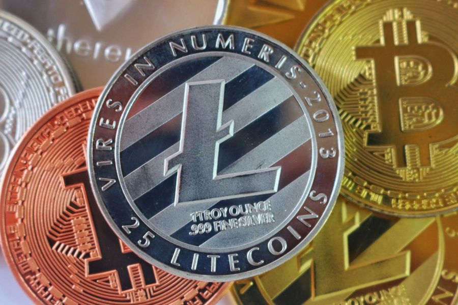 Litecoin Litecoin Close-up No People Indoors  Time Day