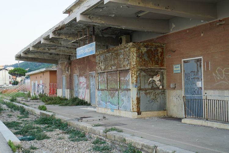Abandoned Day